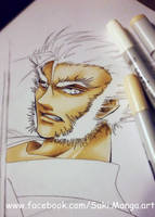 Logan, the Wolverine (WIP) by Suki-Manga
