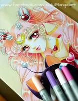 WIP adult version of Sailor Chibimoon by Suki-Manga