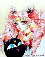 Sailor Chibi Moon by Suki-Manga