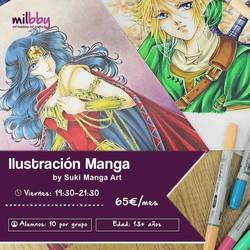 Curso Ilustracion Manga by Suki-Manga