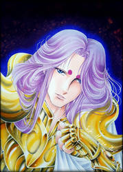 Aries Mu, Saint Seiya by Suki-Manga