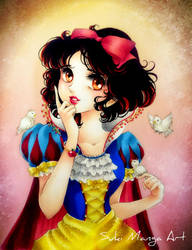 Snow White by Suki-Manga