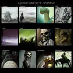 2012 Art summary by SPartanen