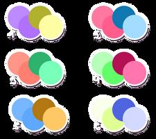 Free Color Schemes by Metterschlingel