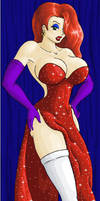Jessica Rabbit in color by tj-caris