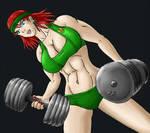 Circe Workout by tj-caris