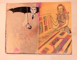 IAIAN SKETCHBOOK pg 9 - pg 10 by DoctorBalls