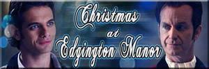 Christmas at Edgington Manor Fanfic Banner by Diamond-Stud