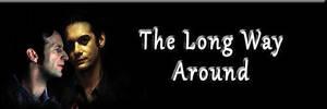 Long Way Around Fanfic Banner by Diamond-Stud