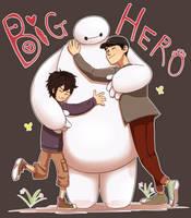 Big Hero 6 by miyu96