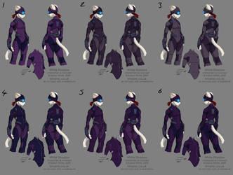 WS - suit colour tests by funkyalien