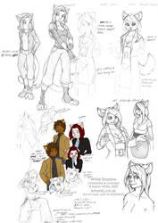 WS - Sketch dump 12 by funkyalien
