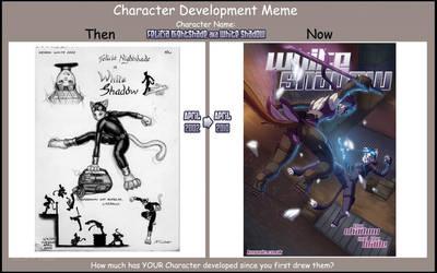 Character Dev Meme - Felicia by funkyalien