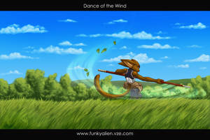 Dance of the Wind by funkyalien