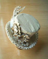 Steampunk mini top hat by arcticorset
