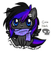 DarkRain - PonyMonster by Kainaa