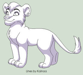 Cub Base with shading by Kainaa