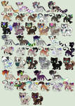 June Adoptables 2014(OPEN)Prices Now Lowered AGAIN by Kainaa