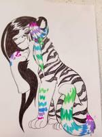 Sassy Holly Tiger adopt (closed) by Kainaa