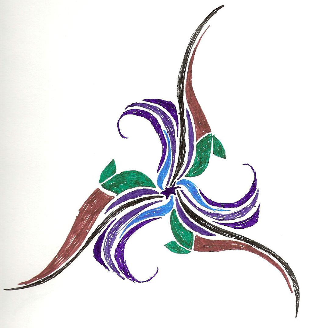 Flower by Aurhia