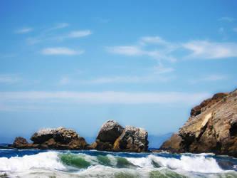 Rockaway Beach, Pacifica by Aurhia