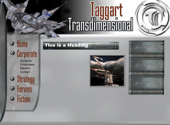 Taggart Transdimensional guild website by Aurhia