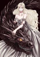Daenerys Targaryen by catablu
