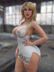 like a figure by guhzcoituz