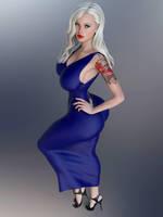 Foxy Dress by guhzcoituz