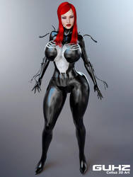 Mary Jane She Venom by guhzcoituz