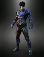 Nightwing for Genesis 2 Male by guhzcoituz