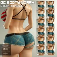 GC Booty Morph for G8F by guhzcoituz