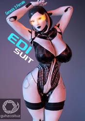 EDI Suit Genesis 3 Female by guhzcoituz