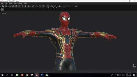 Iron Spiderman WIP by guhzcoituz