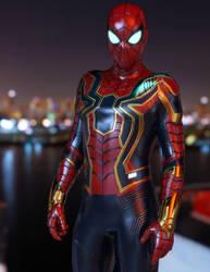 Iron Spiderman by guhzcoituz
