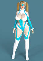 Mika Outfit for Genesis 3 Female (3D Cosplay) by guhzcoituz