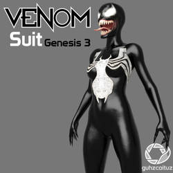 Venom Suit for Genesis 3 by guhzcoituz