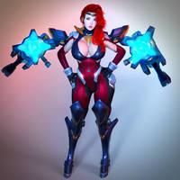 Gun goddess miss fortune by guhzcoituz