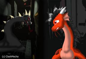 Dragon Transformation pt 14 by clashmecha