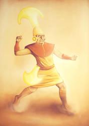 Muchik Warrior by Cetosc