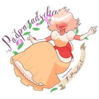 Padparadscha Sapphire by Katthewonderbat