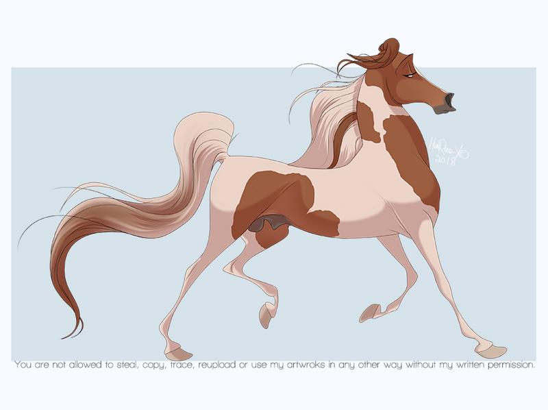 Fabulous saddlebred by HorRaw-X