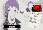 Hilly Hyde |character sheet| by HorRaw-X