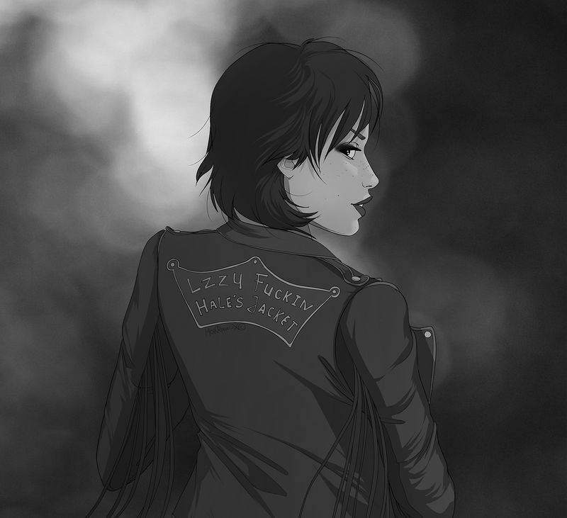 Lzzy Hale's fucking jacket by HorRaw-X