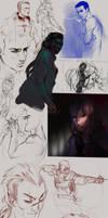 sketchdump 1 by diademata
