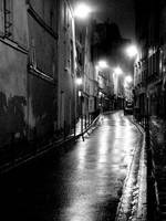Night rain by LE-Taka