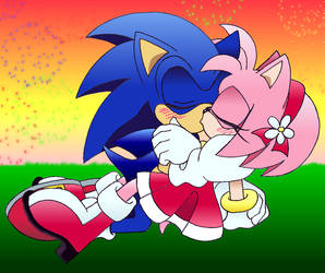 SonAmy: Kiss Me by ArisuAmyFan