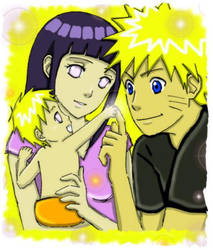 Collab: NaruHina Family by ArisuAmyFan