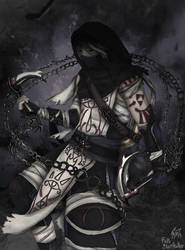 Sheik (male) badass version by Faith-Blairheather