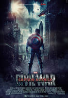 Captain America Civil War Movie Poster by HZ-Designs